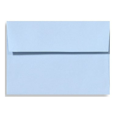 LUX A9 Invitation Envelopes (5 3/4 x 8 3/4) 50/Box, Baby Blue (EX4895-13-50)