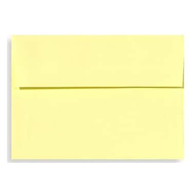 LUX A9 Invitation Envelopes (5 3/4 x 8 3/4) 50/Box, Lemonade (EX4895-15-50)