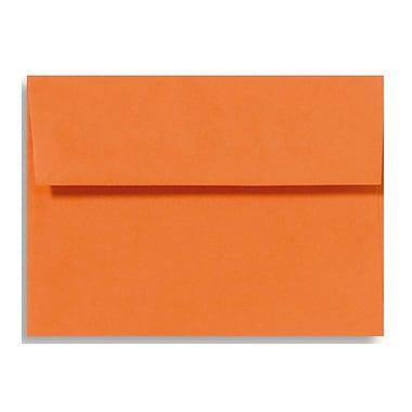 LUX A9 Invitation Envelopes (5 3/4 x 8 3/4) 50/Box, Mandarin (EX4895-11-50)