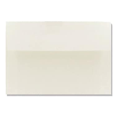 LUX A9 Invitation Envelopes (5 3/4 x 8 3/4) 250/Box, Natural White - 100% Cotton (4895-SN-250)