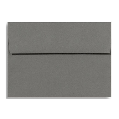 LUX A9 Invitation Envelopes (5 3/4 x 8 3/4) 1000/Box, Smoke (EX4895-22-1000)
