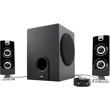 Cyber Acoustics CA-3602 30 W 3 Piece Satellite Speaker With 5 1/4in. Woofer