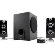Cyber Acoustics CA-3602 30 W 3 Piece Satellite Speaker With 5 1/4 Woofer