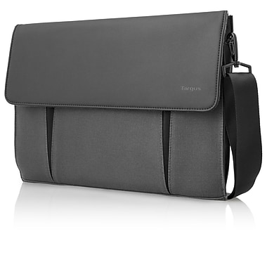 Targus Thin Canvas Case For 14in. Ultrabook, MacBook Pro, MacBook Air, Gray