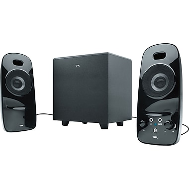 Cyber Acoustics CA-3092BT 8 W 2.1 Bluetooth Powered Speaker System