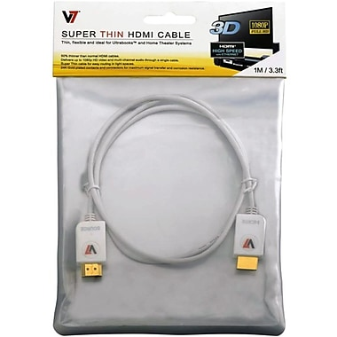 V7 3.3 Super Thin HDMI Cable
