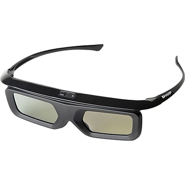 Sharp AN-3DG40 Active 3D Glasses, Black