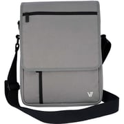 V7 Vertical Messenger Bag For iPads and Tablets Upto 10.1, Grey