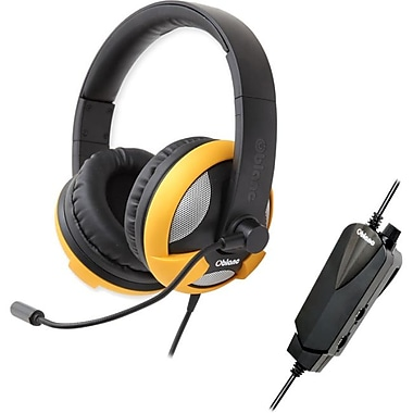Syba Oblanc UFO510 5.1 Surround Sound Gaming Headset, Yellow