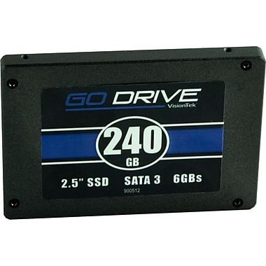 Visiontek GoDrive 2 1/2in. SATA Internal Solid State Drive, 240GB