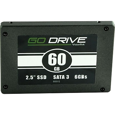 Visiontek GoDrive 2 1/2in. SATA Internal Solid State Drive, 60GB