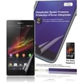 Green Onions Supply Crystal Oleophobic Screen Protector For Sony Xperia Z, Clear