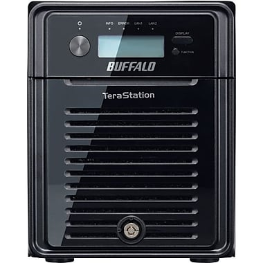 Buffalo TeraStation 3400 NAS Server, 4 TB, 110-220 VAC