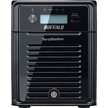Buffalo TeraStation 3400 NAS Server, 12 TB, 110-220 VAC