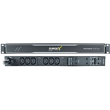 SurgeX Defender SX-DS-520-FP 6-Outlets Power Distribution Unit With 9.84 Cord