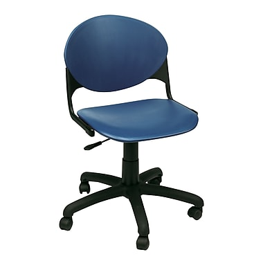 KFI Seating Polypropylene Task Chair, Navy