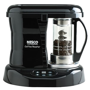 Nesco® 800W Pre-Set Digital Control Professional Coffee Bean Roaster, Black