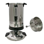 Nesco® 950W 57 oz. 30 Cup SS Double Wall Coffee Urn, Steel