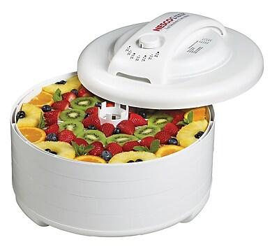 Snackmaster Express 4 Tray Dehydrator W/ Fruit Roll Sheet FD-60