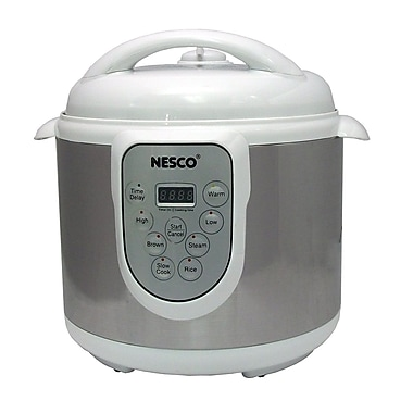 Nesco® 4-in-1 6 Quart Digital Pressure Cooker