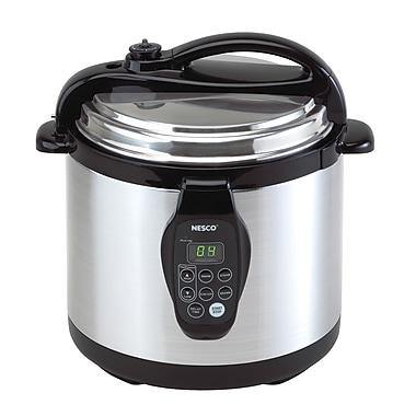 Nesco® 3-in-1 Stainless Steel 6 Quart Digital Pressure Cooker