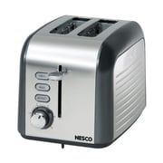 Nesco® Everyday 2 Slices Toaster, Gray/Chrome
