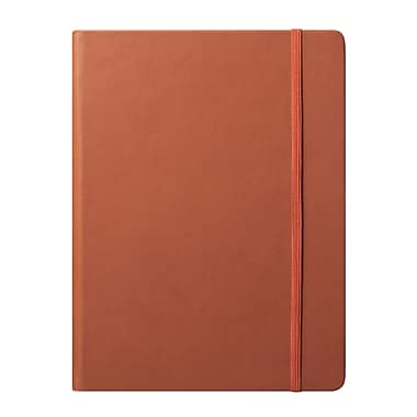Eccolo™ Faux Leather Large Cool Jazz Journal, Tan