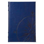 Eccolo™ Faux Leather Nautilus Journal, Navy