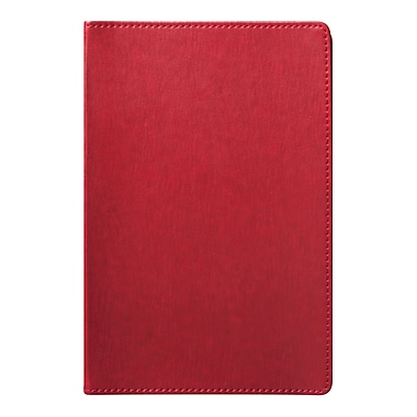 Eccolo™ Faux Leather Simple Journal, Red