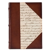 Eccolo™ Italian Leather Calligraphy Paper Journal