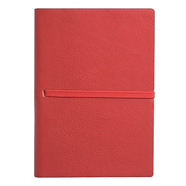 Eccolo™ Italian Leather Elastico Journal, Red