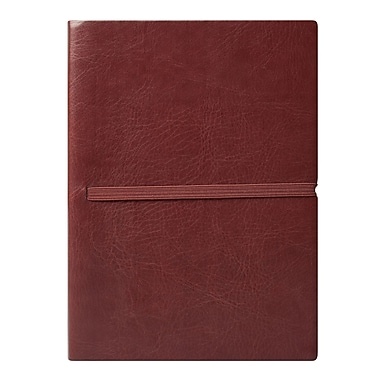 Eccolo™ Faux Leather Elastico Journal, Brown