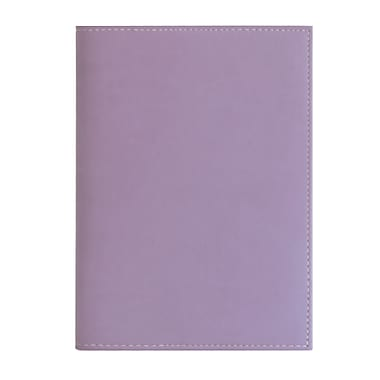 Eccolo™ Faux Leather Pearl Refillable Journal, Lavender