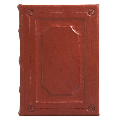 Eccolo™ Italian Leather Firenze Journal, Burgundy