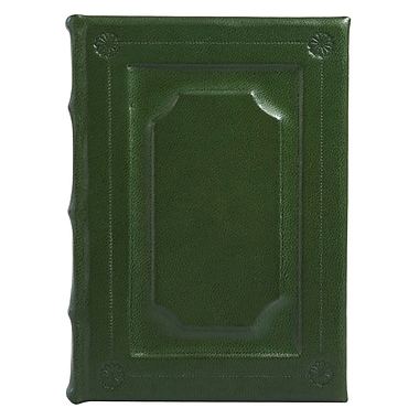 Eccolo™ Italian Leather Firenze Journal, Hunter Green