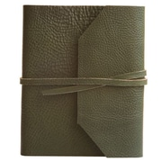 Eccolo™ Italian Leather Frieri Journal, Hunter Green