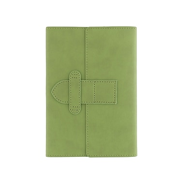 Eccolo™ Faux Leather Latch Journal, Green