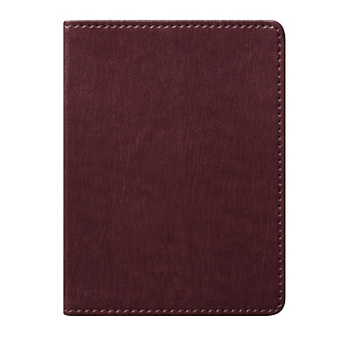 Eccolo™ Faux Leather Simple Pocket Size Journal, Brown