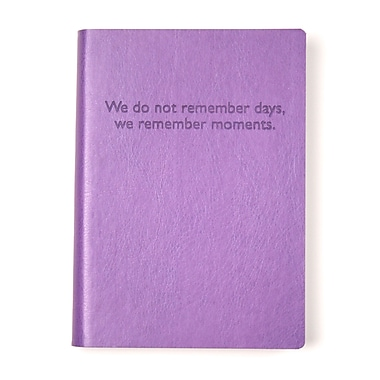 Eccolo™ Italian Faux Leather Remember Days Journal, Lavender