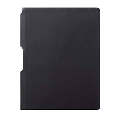 Eccolo™ Faux Leather Groove Jazz Desk Journal, Black