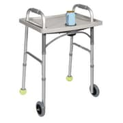Drive Medical Universal Walker Tray with Cup Holder in Gray