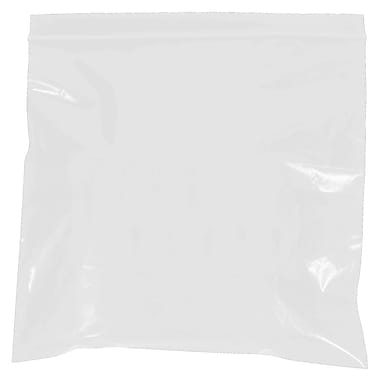 BOX 9in. x 12in. x 2 mil Reclosable Poly Bags, White