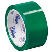 "Tape Logic 2"" x 55 yds. x 2.2 mil Carton Sealing Tape, Green, 6/Pack"