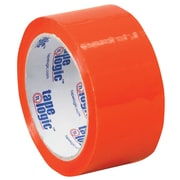 "Tape Logic 2"" x 55 yds. x 2.2 mil Carton Sealing Tape, Orange, 6/Pack"