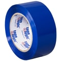 Tape Logic 2in. x 110 yds. x 2.2 mil Carton Sealing Tape, Blue, 6/Pack