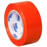 "Tape Logic 2"" x 110 yds. x 2.2 mil Carton Sealing Tape, Orange, 6/Pack"