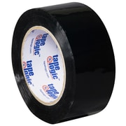 "Tape Logic 2"" x 110 yds. x 2.2 mil Carton Sealing Tape, Black, 6/Pack"