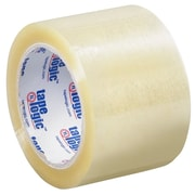 Tape Logic 3 x 110 yds. x 1.6 mil Acrylic Tape, Clear, 24/Case