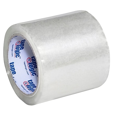 Tape Logic 4in. x 72 yds. x 1.8 mil Acrylic Tape, Clear, 18/Case