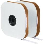 """Tape Logic 1/2"""" x 75' Individual Tape Loop Strip, White"""